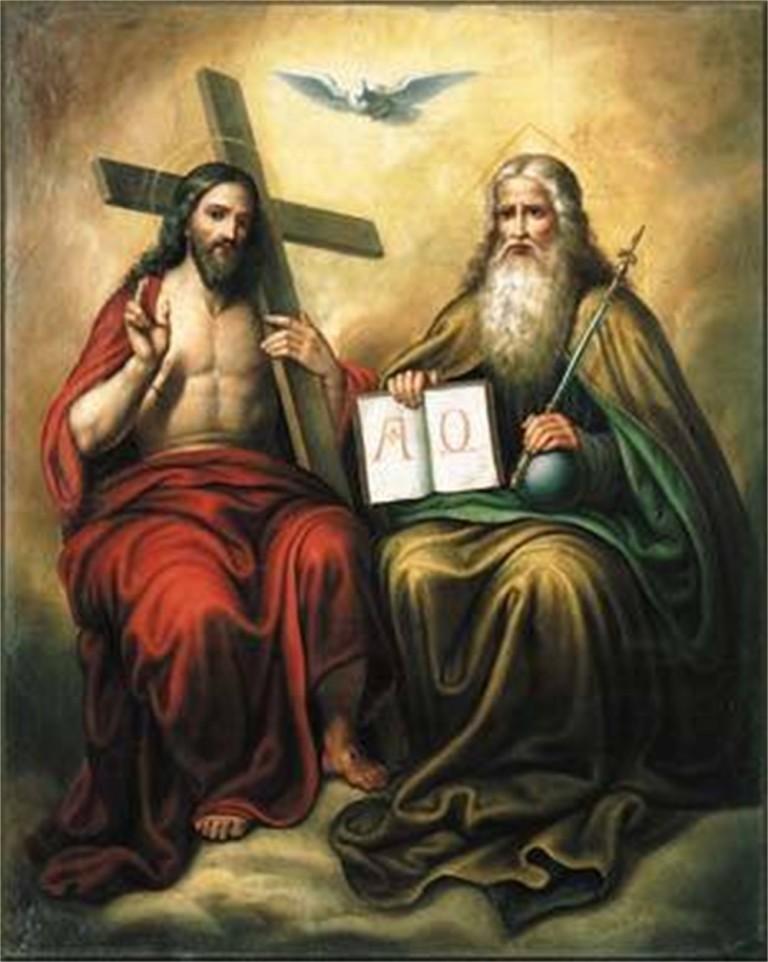 Картинки отец сын святой дух