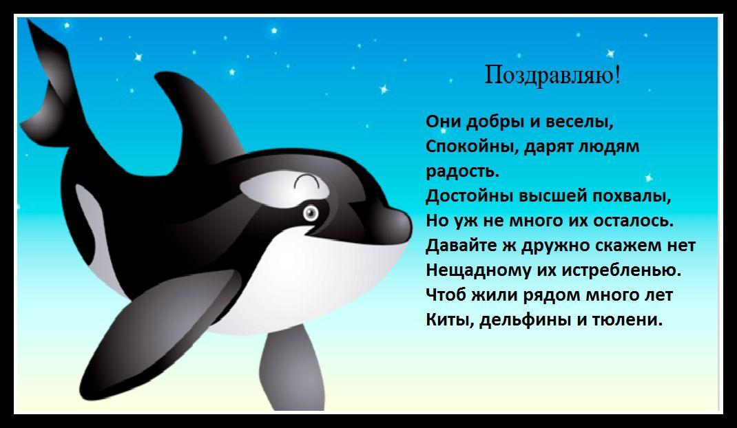 С днем дельфинов открытки